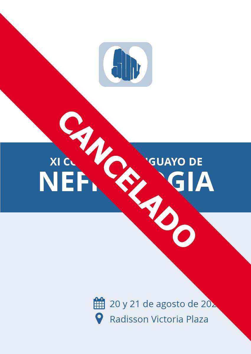 XI CONGRESO URUGUAYO DE NEFROLOGA Afiche 2