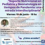 Soporte Nutricional en Pediatría y Neonatología en tiempos de Pandemia una mirada interdisciplinaria