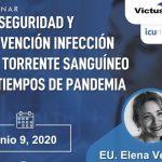 Invitación al Webinar Bioseguridad y Prevención Infecciones del Torrente Sanguíneo en Tiempos de Pandemia