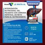 Webinar Intervención nutricional del paciente con cirrosis hepática, Un reto para el nutricionista.