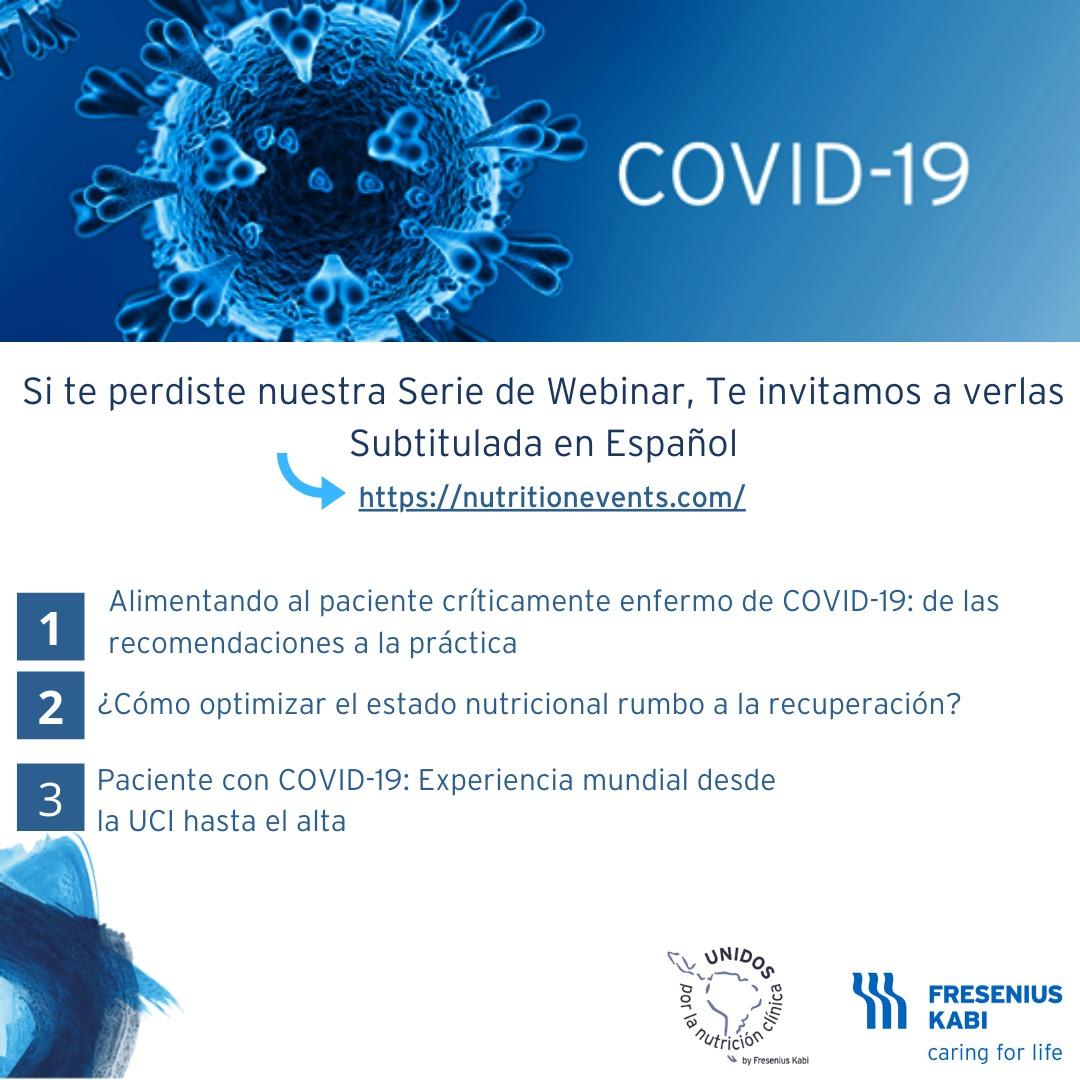 Webinars COVID Español 2