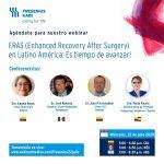 Webinar Anestesia - 22 de Julio - ERAS en Latinoamérica
