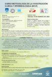 Curso Metodología de la Investigación Clínica y Epidemiológica (MICE)