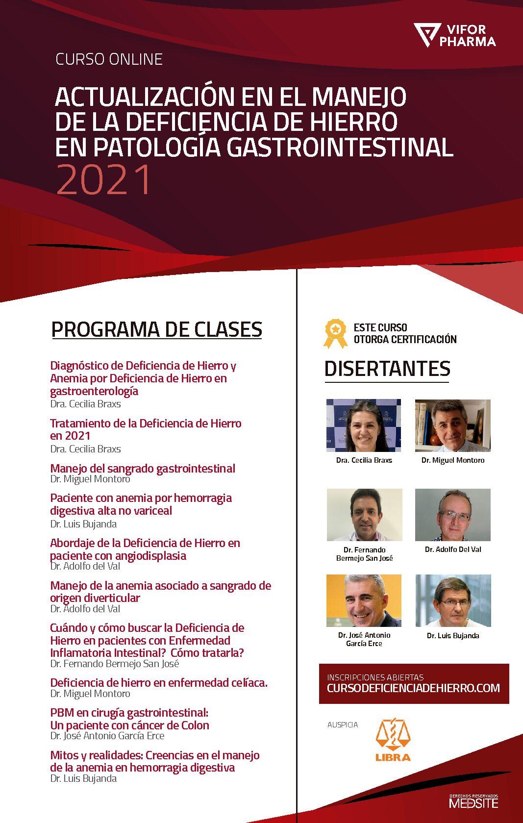 Curso Gastrooenterologia 2021