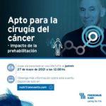 """Webinar de Oncología """"Apto para la cirugía del cáncer – impacto de la prehabilitación"""""""