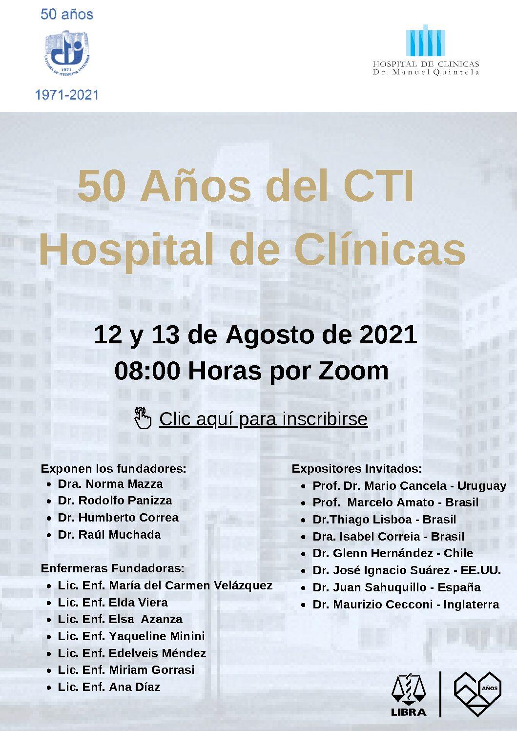 50 Años del CTI Hospital de Clínicas (2)