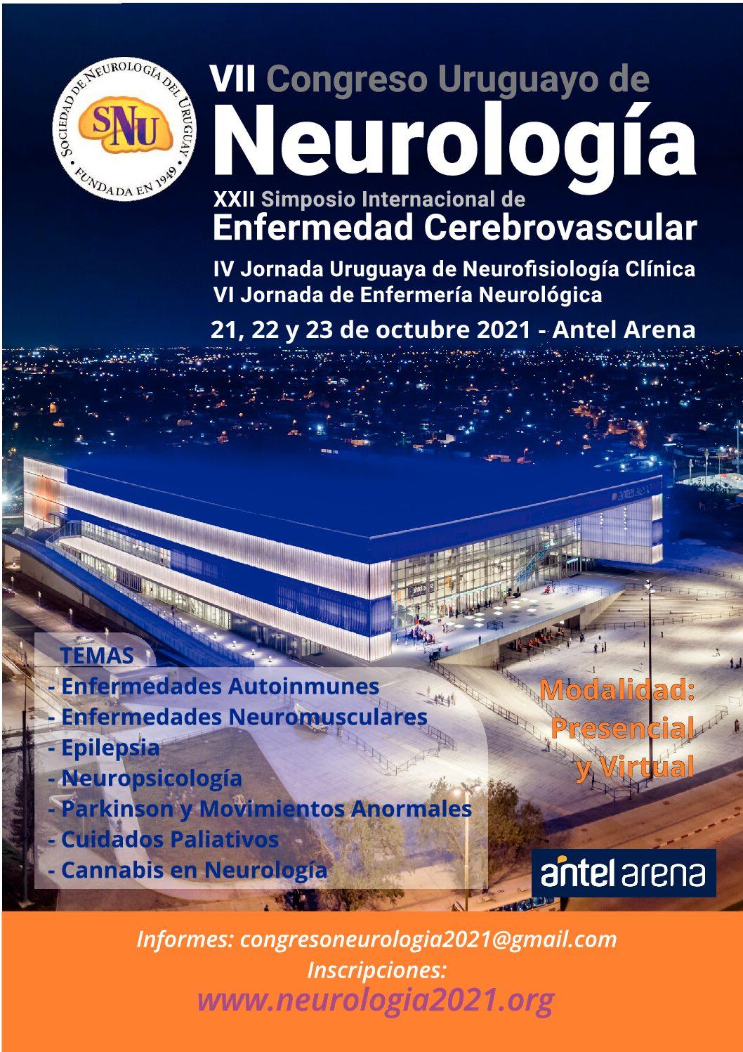 Afiche Congreso Neurología 2021